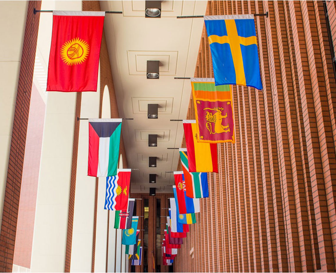 Hall of flags